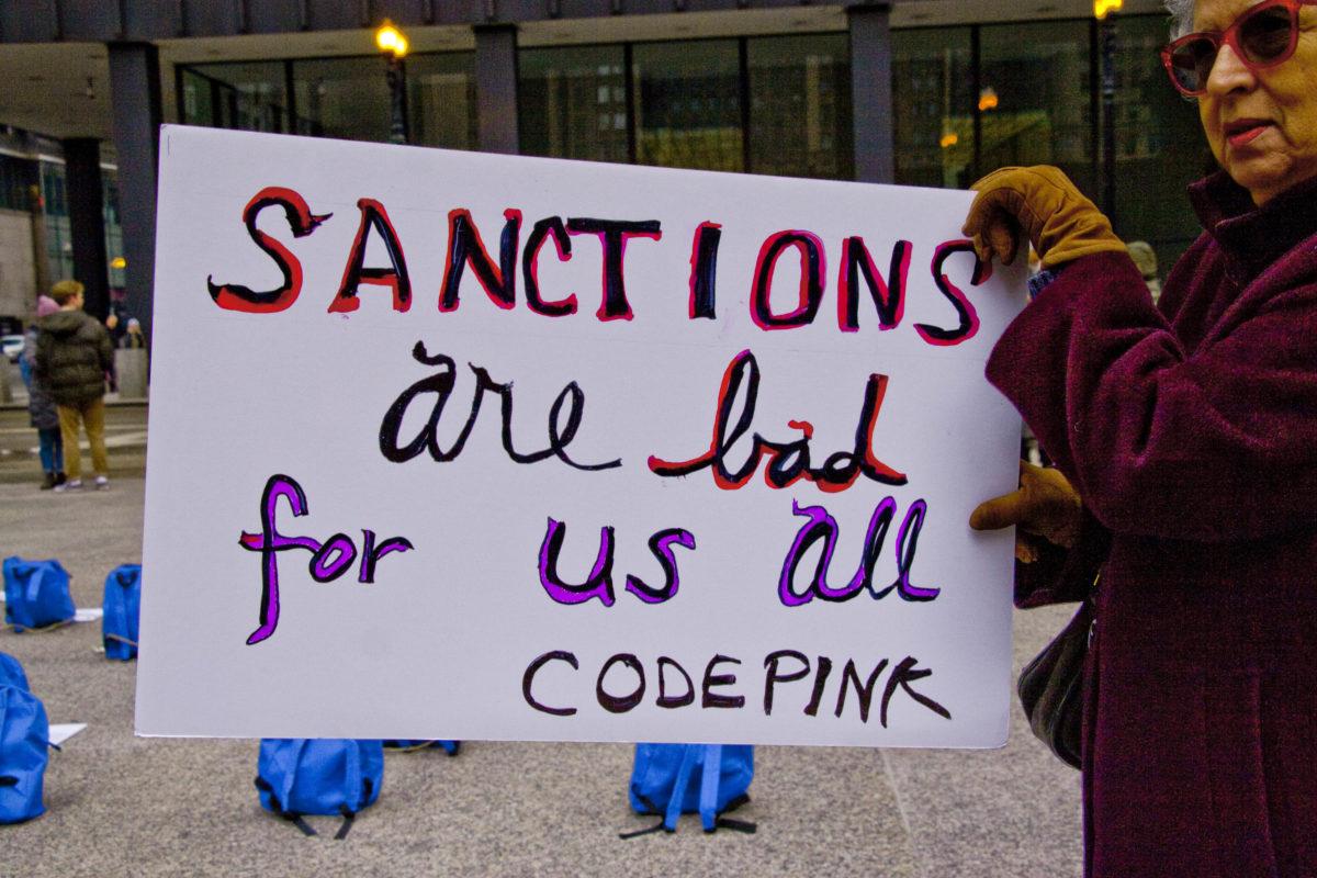 End the sanctions