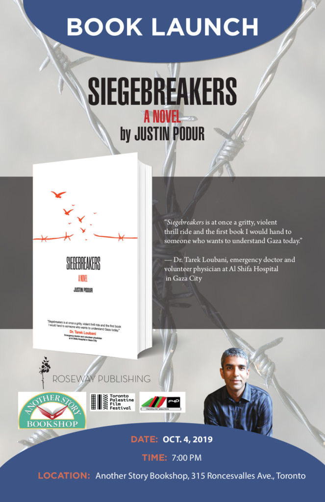 Siegebreakers Launch, Oct 4/19 Another Story Bookshop toronto