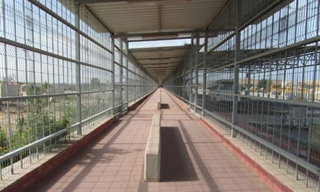Photo of Erez Crossing from the Guardian