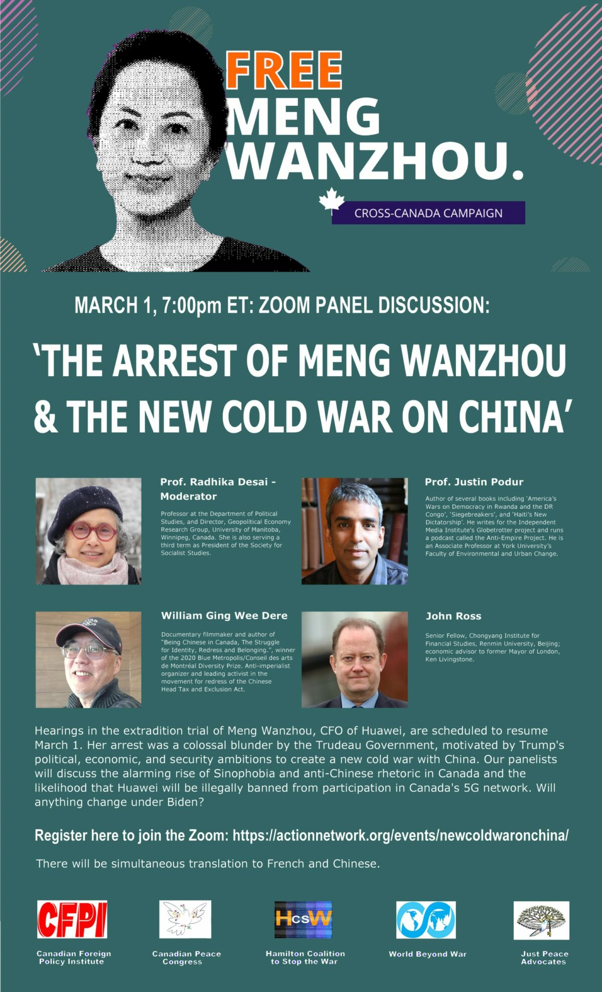 AEP 80: My comments on The Arrest of Meng Wanzhou and the New Cold War on China