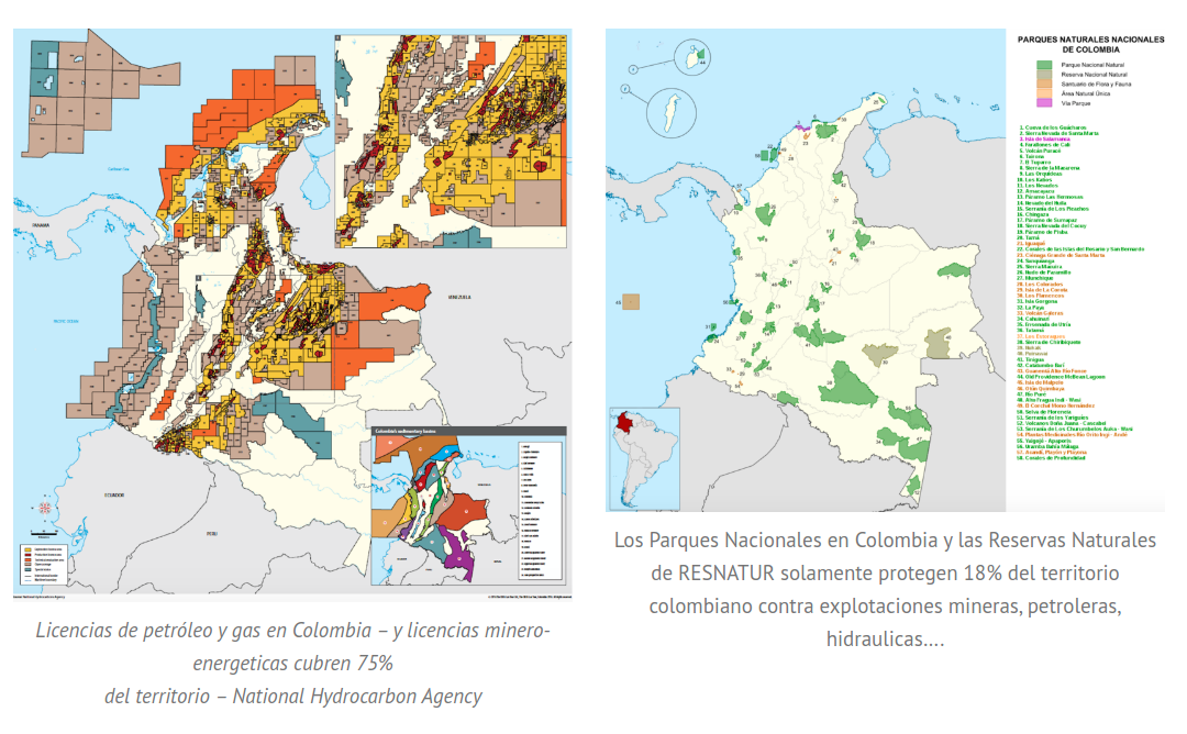 Is Colombia's Military Displacing Peasants to Protect the Environment or Sell Off Natural Resources?