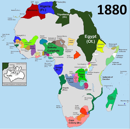 Scramble for Africa 1: Pre-Scramble Africa – the Slave Trade and the Gold Coast